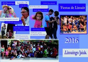 Fiestas de Lizoain 2016