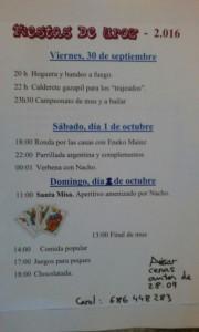 Fiestas de Uroz- Urotzeko festak