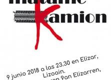 """Lizoain-Arriasgoiti: Actuación del grupo: """"Mátame kamión""""/Lizoainibar-Arriasgoitin:""""Mátame kamión"""" taldearen ekitaldia"""
