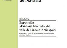 """Lizoain-Arriasgoiti en la revista """"Cuadernos de etnología y etnografía de Navarra""""/Lizoainibar-Arriasgoiti """"Cuadernos de etnología y etnografía de Navarra"""""""