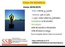 Clases de Yoga en Monreal