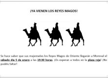 CABALGATA REYES MAGOS DE MONREAL