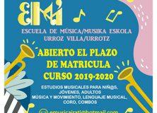 Escuela de música de Urroz