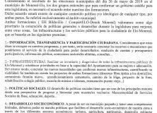 PACTO DE GOBIERNO A LA ALCALDIA DE MONREAL – LEGISLATURA 2019-2023