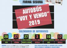 """VOY Y VENGO para este verano """"DISFRUTA Y REGRESA SEGURA/O"""""""