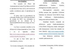 Ayudas al aprendizaje del euskera en Lizoain-Arriasgoiti/ Euskera ikasteko laguntzak Lizoainibar-Arriasgoitin