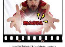 """Sergius"" magoa Lizoainibar-Arriasgoitin/ El mago ""Sergius"" en Lizoain-Arriasgoiti"