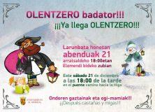 Olentzero badator!!!/¡¡¡Ya llega el Olentzero!!!