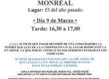 I.T.V. MOVIL AGRICOLA, CICLOMOTORES MONREAL